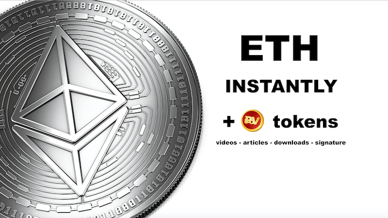 get ETH instantly