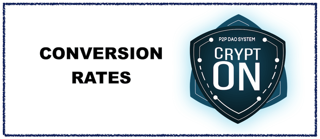 Crypt-ON (IPT) Conversion Rates