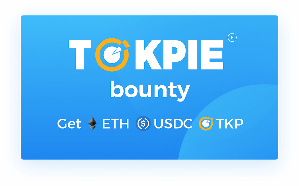 TOKPIE Bounty: get ETH, USDC and TKP