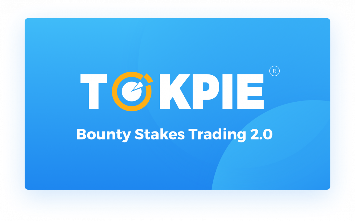 Tokpie Bounty Stakes Trading