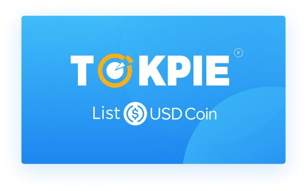 USDC available on Tokpie