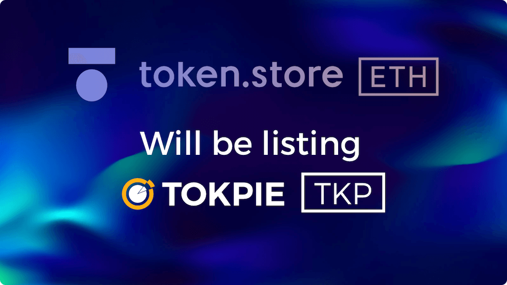 TOKPIE (TKP) token Listing progress