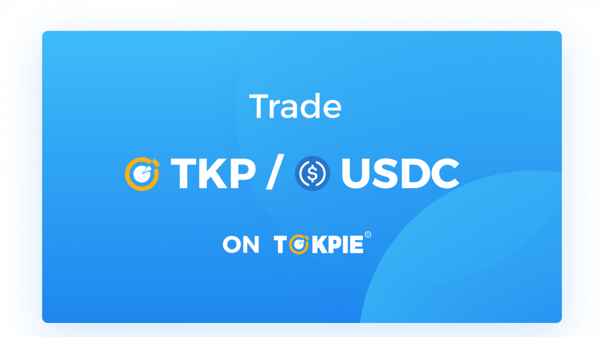 trade TKP for USDC