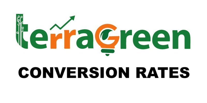 TerraGreen (TGN) Conversion Rates