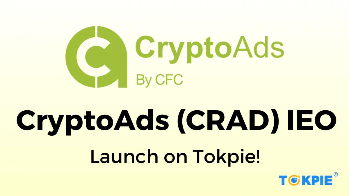 CryptoAds (CRAD) IEO