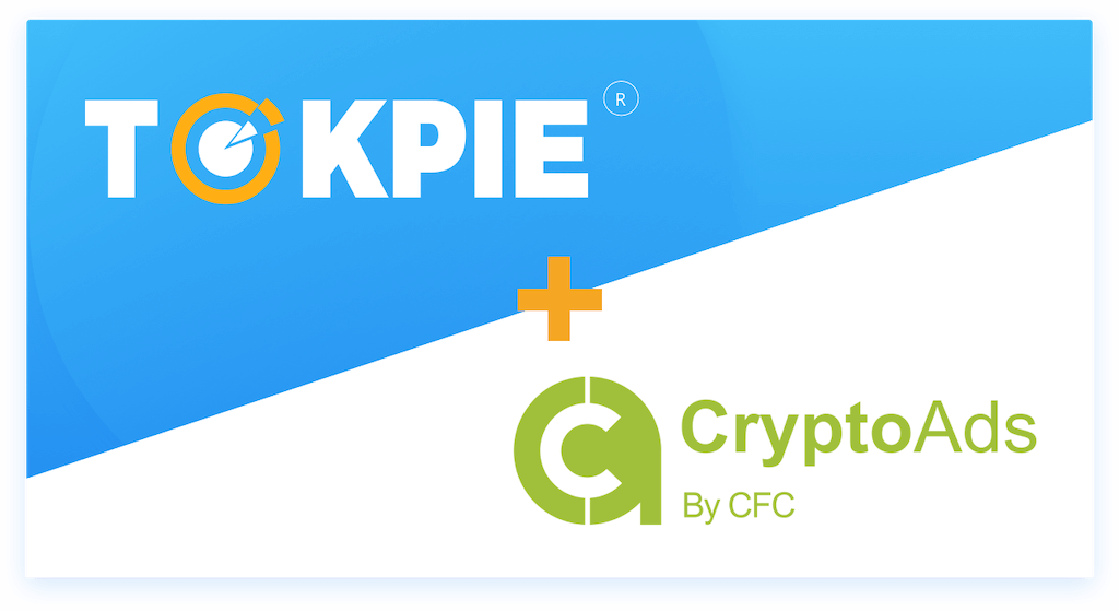 Tokpie Will List CryptoAds (CRAD) token