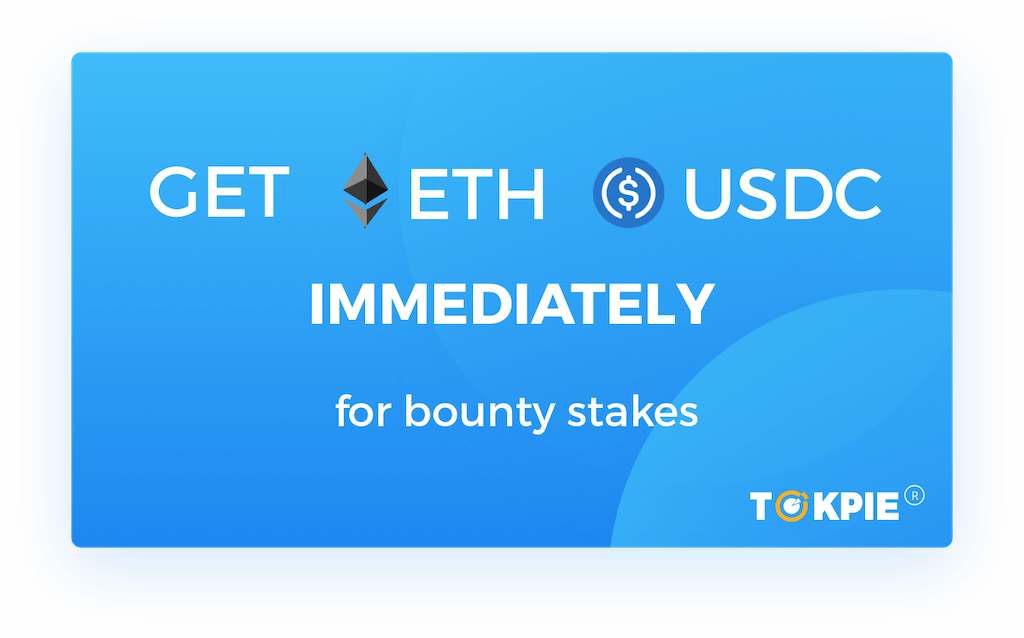 Take ETH and USDC Every Week by Selling Bounty Stakes