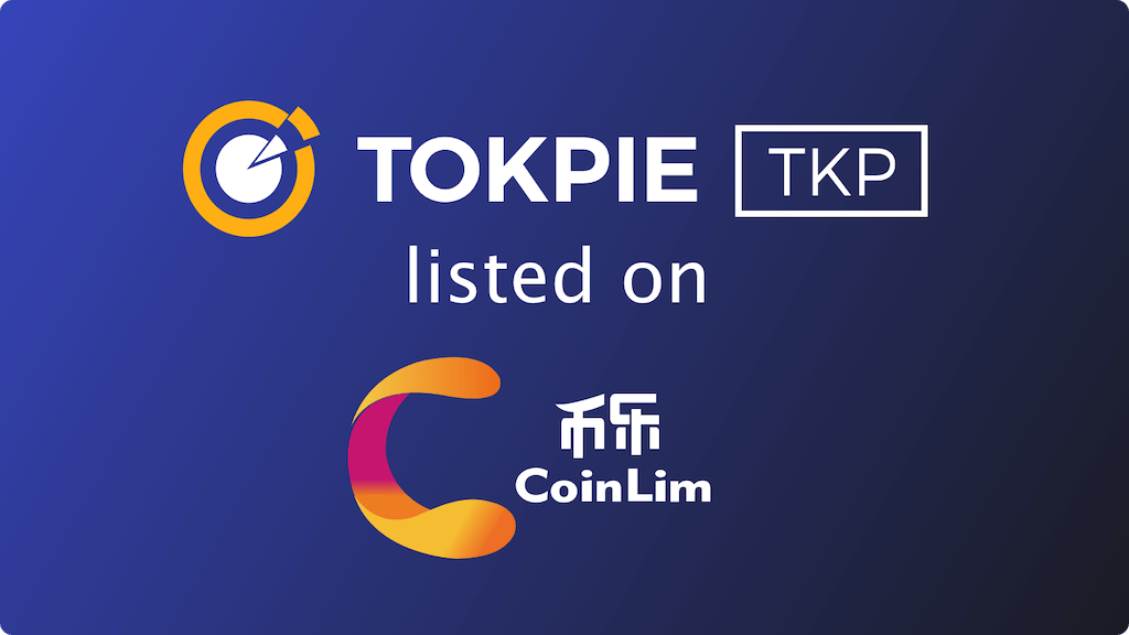 TOKPIE (TKP) Token Listed on Coinlim!