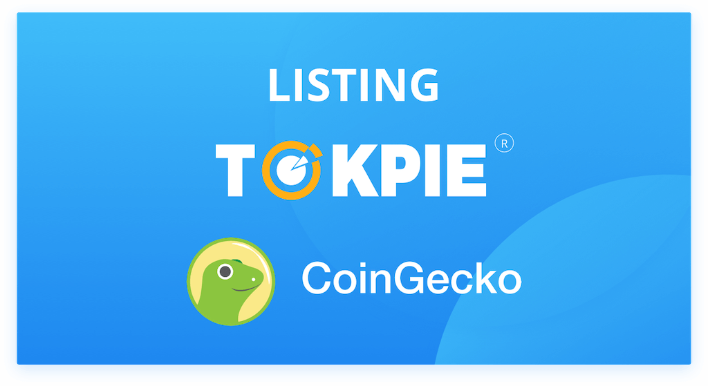 TOKPIE Exchange on CoinGecko