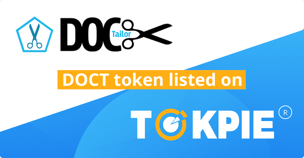 DocTailor (DOCT) Token Listed on Tokpie