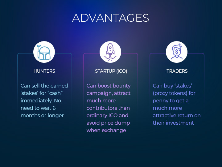 Bounty Stakes Listing 2.0 advantages