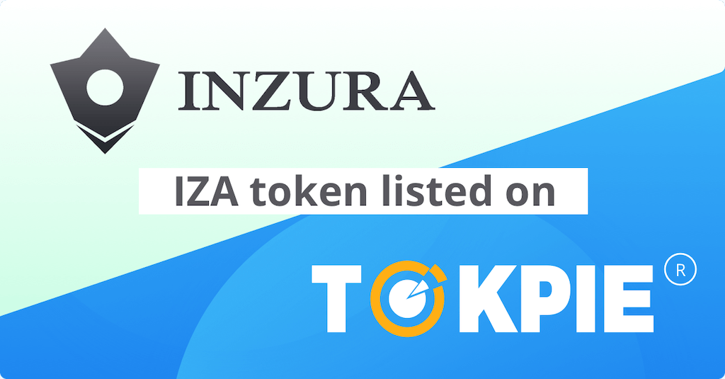 INZURA (IZA) Token Listed on Tokpie