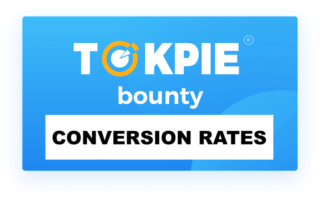 Tokpie Bounty: Conversion Rates and Distribution
