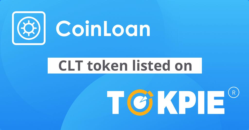 CoinLoan Token (CLT) Listed on Tokpie