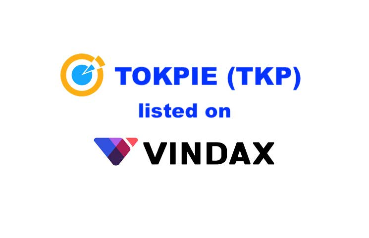 TOKPIE (TKP) Token is Now Listed on VinDAX!