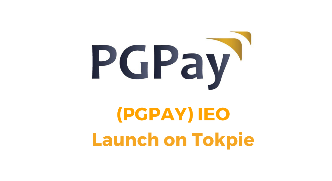 PGPay IEO on Tokpie exchange