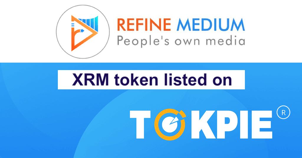 XRM listed on Tokpie