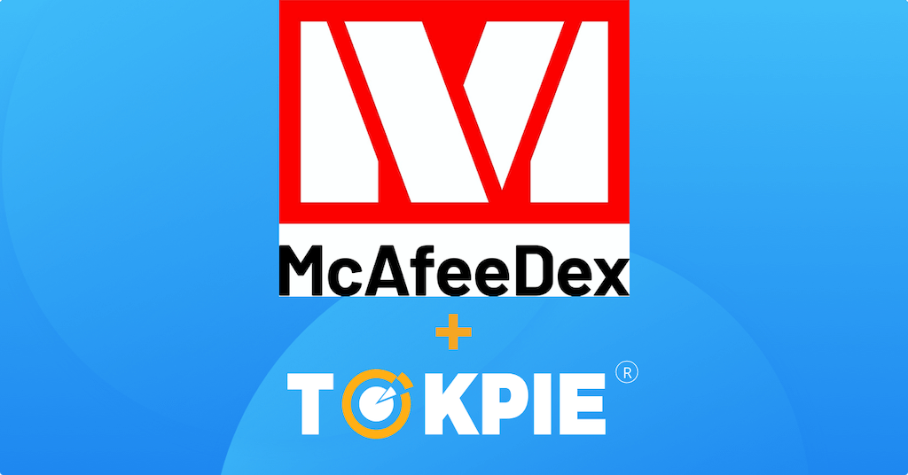 get listed on McAfeeDEX