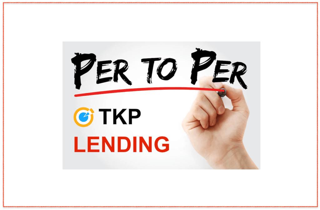 P2P crypto lending TKP token