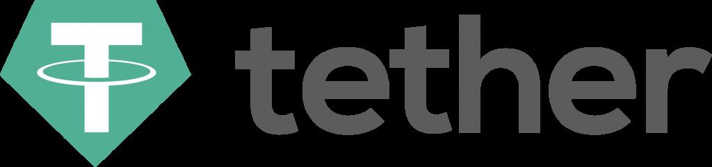 T letter logo means Tether