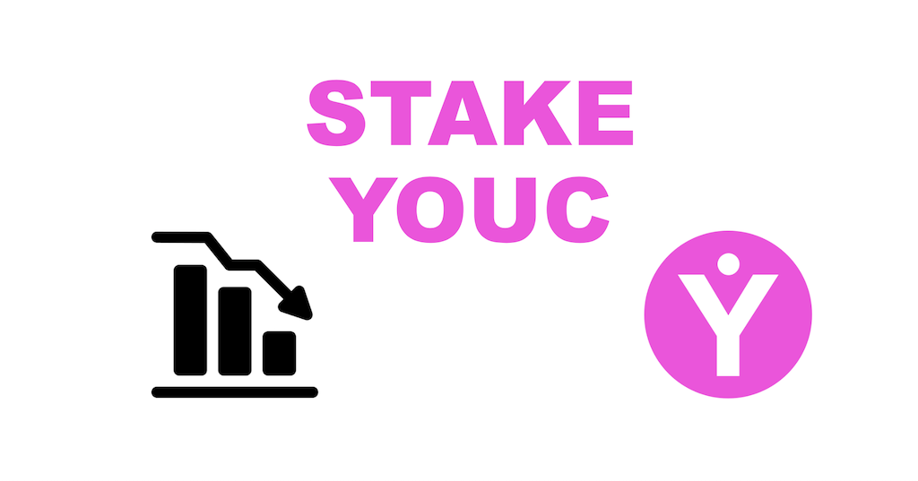 Stake YOUC tokens