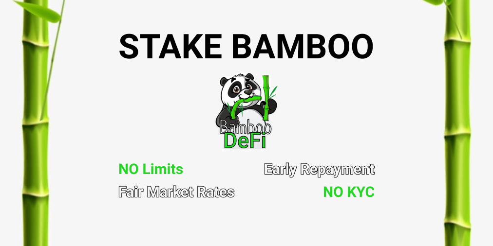 how to stake Bamboo tokens