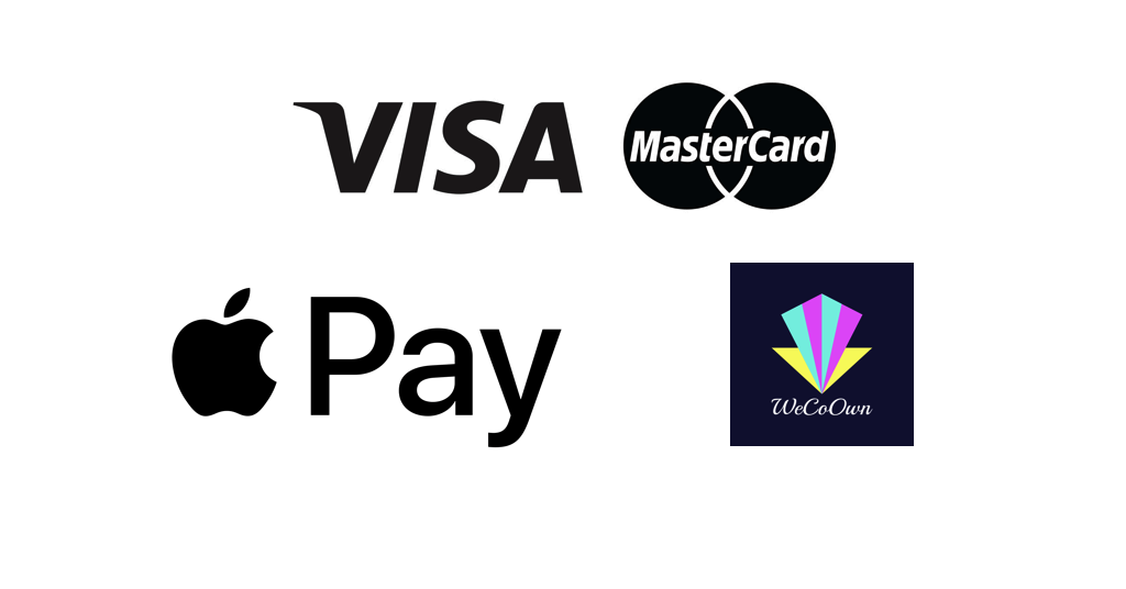Get WCX tokens with Visa, MasterCard, or Apple Pay