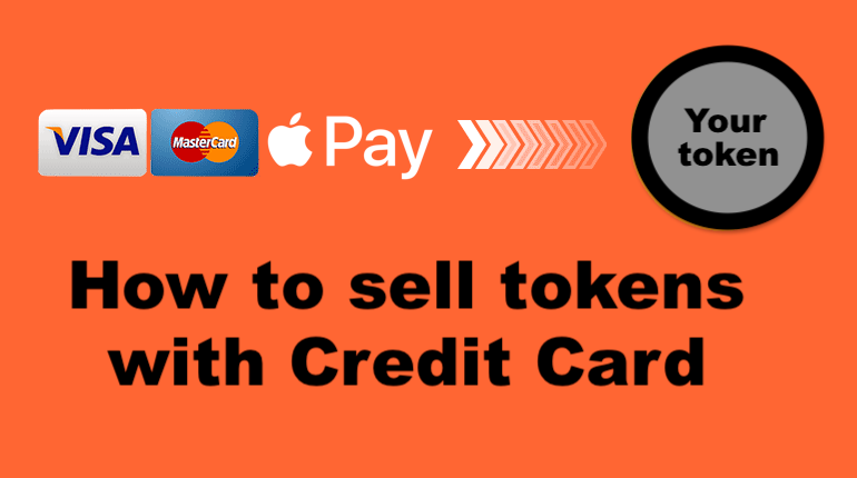 Sell More Tokens: Add Bank Card and Apple Pay