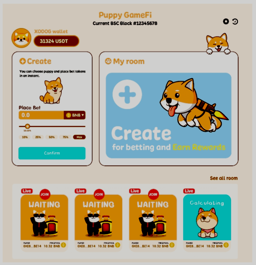 GameFi on Puppy