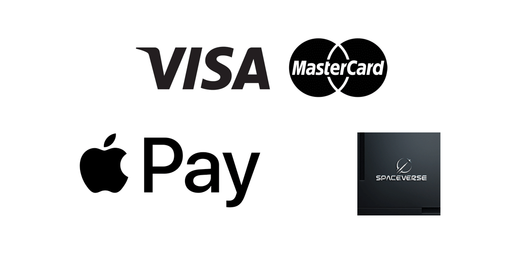 buy SpaceVerse with bank card