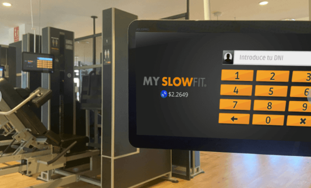 FITtoken in sports centers